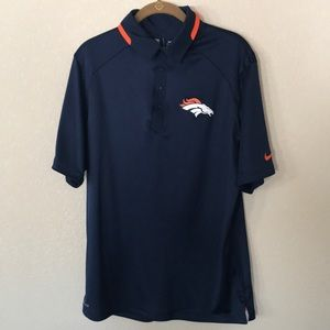 Broncos Nike Dri Fit NFL Polo